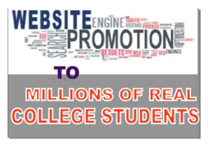 I Will Promote Your Mlm,Solo Ads Or Any Link Among College Students