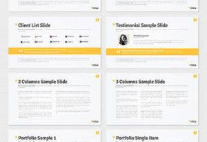 I will Design you POWERPOINT template you can edit very easily