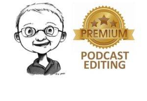 I will make your podcast sound magical with editing and mixing