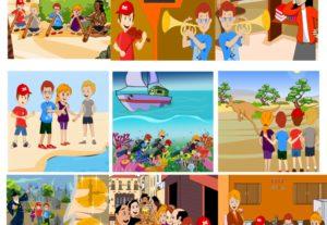 I will do illustrations for children s book