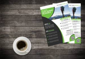Get a  professional business flyer