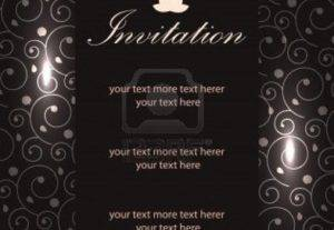 I Will Do A Standard Invitation Design For You