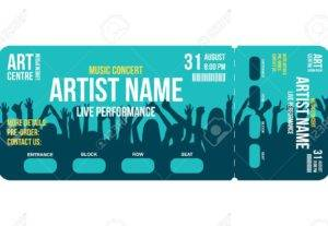I Will Design A Perfect Event Ticket Or Entry Pass