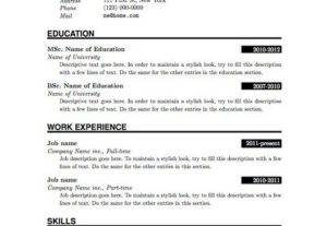 I Will Design A Well Designed CV Service By Best Graphic Designers