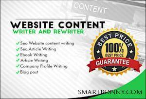 Copywriting and content writing Job By Best Article Writing