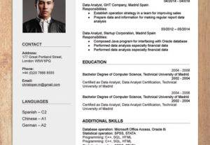 I Will Design A Well Designed CV Services By Best Graphic Designer