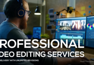 I Will Do Professional Video Editing By Best Graphic Designs USA